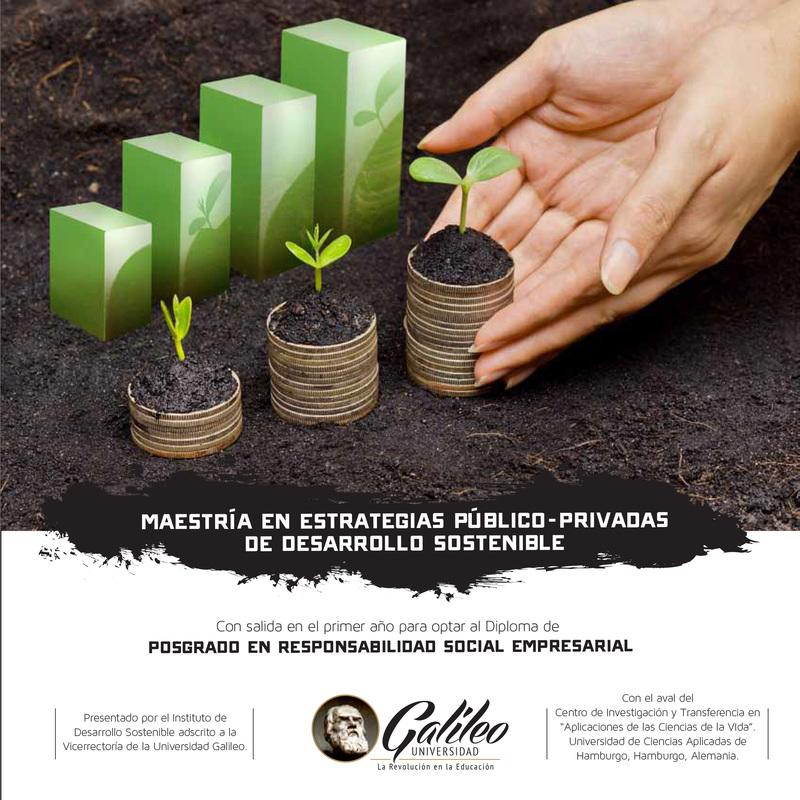 Maestría en Estratégias Público-Privadas de Desarrollo Sostenible