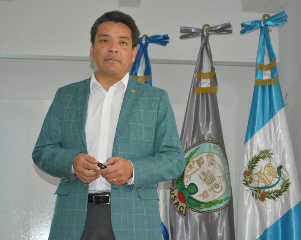 Dr, Edwin Castellanos, Decano de Investigación de la Universidad del Valle de Guatemala