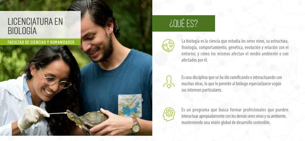 Licenciatura en Biología.
